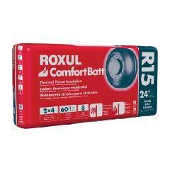 "Rockwool 3-1/2"" x 24-1/4"" x 4' COMFORTBATT® R-15 - 64.7 Sq. Ft. Bag"