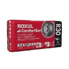 "Rockwool 7-1/4"" x 15-1/4"" x 47"" COMFORTBATT® R-30 - 29.9 Sq. Ft. Bag"