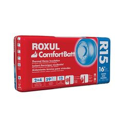 "Rockwool 3-1/2"" x 15-1/4"" x 47"" COMFORTBATT® R-15 - 59.7 Sq. Ft. Bag"