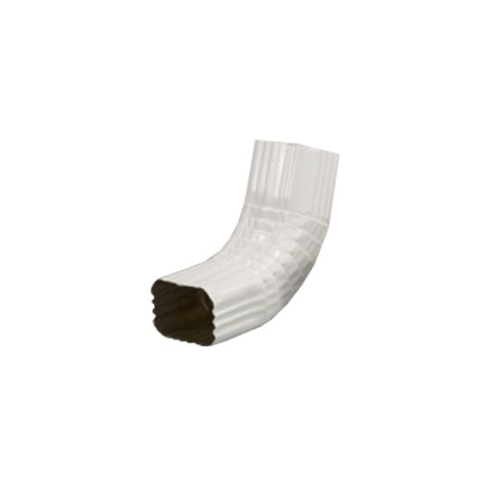 """LYF-TYM Building Products 3"""" x 4"""" Style-A 75° Elbow Black"""