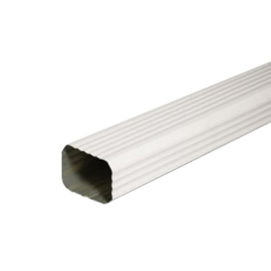 """LYF-TYM Building Products 2"""" x 3"""" x 10' Downspout Victorian Grey"""