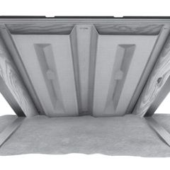 "Owens Corning 22-1/2"" x 48"" AtticMate™ Under Deck Attic Vent - 1 Bag"