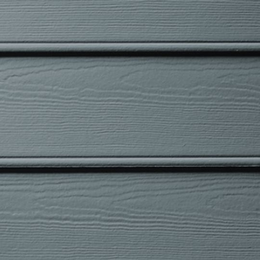 "James Hardie 5/16"" 8-1/4"" x 12' HardiePlank® Beaded Cedarmill Lap Siding for HardieZone® 5 Arctic White"