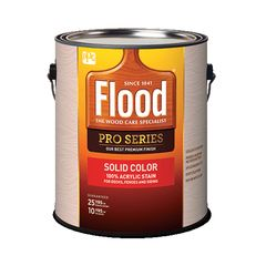 PPG Industries (FLD822) Flood® Pro Series Solid Color 100% Acrylic...