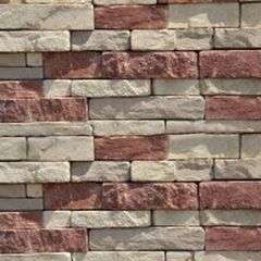 Quarry Ridge Stone Drystack Ledgestone Flat - 10 Sq. Ft. Box