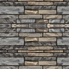 Quarry Ridge Stone Ledgestone Flat - 10 Sq. Ft. Box