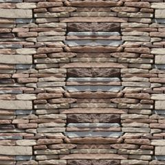 Quarry Ridge Stone Rustic Ledgestone Flat - 10 Sq. Ft. Box