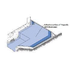 GCP Applied Technologies 4' x 98' Preprufe® GMS Membrane