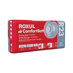 "Rockwool 5-1/2"" x 23"" x 47"" COMFORTBATT® R-23 - 37.5 Sq. Ft. Bag"