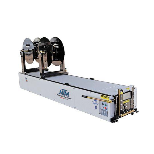 "New Tech Machinery 6"" Mach II™ Gutter Machine"