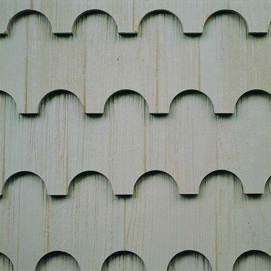"Collins Pine Company 1/2"" x 9-1/2"" x 8' TruWood® Designer Shake® Craftsmen Staggered Lap Siding"