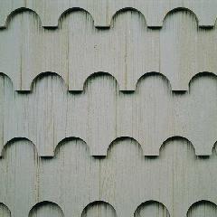 "Collins Pine Company 1/2"" x 9-1/2"" x 8' TruWood® Designer Shake®..."