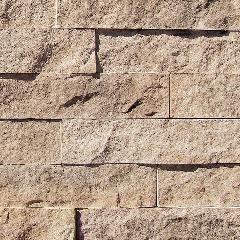 "Coronado Stone 3"" Split Limestone - 100 Lin. Ft. Big Box Corners"