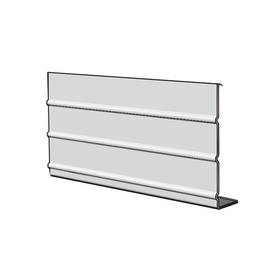 "Napco 8"" Aluminum Smooth Ribbed Fascia Liberty White"