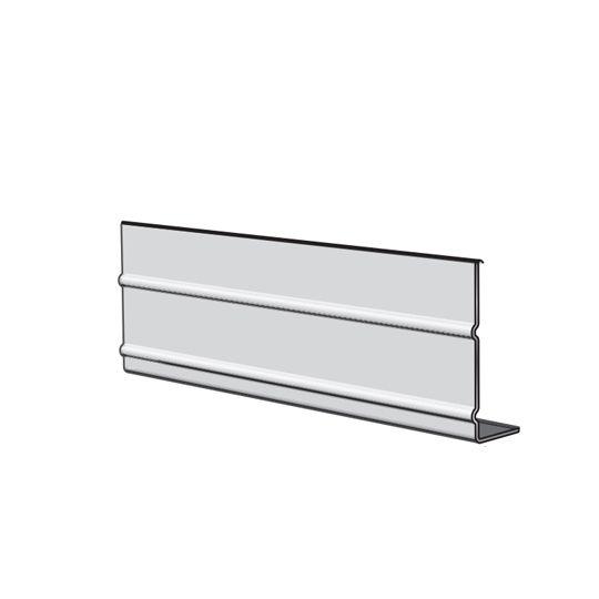 "Napco 4"" Aluminum Smooth Ribbed Fascia Liberty White"