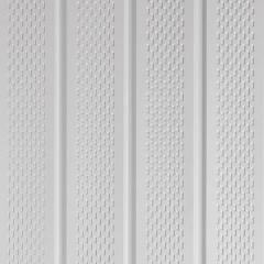 "Napco American Comfort® Commercial Aluminum Triple 4"" Full Vent Soffit"