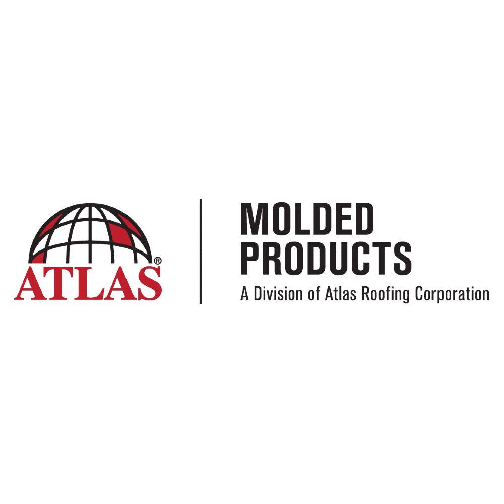 """Atlas Molded Products 1"""" x 2' x 4' EIFS Weather Barrier Foam Board - Bundle of 21"""