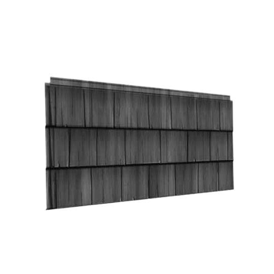 "Quality Edge 47-1/2"" x 22-1/8"" TruCedar® Shake Sidewall Panel Weathered Wood (108)"