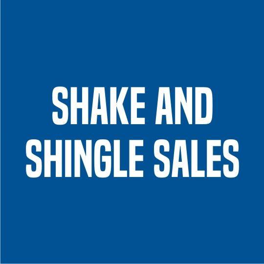 "Shake and Shingle Sales 16"" x .40"" Shingle Hip & Ridge"