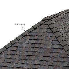 "PABCO Roofing Products 8"" Shasta HD Ridge - 20 Lin. Ft. Box"