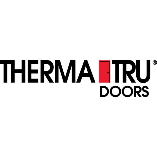 "Therma-Tru 3' x 6' 8"" x 6-5/8"" Smooth-Star® Model 18 Composite Frame with Rot Proof Bottom - Inswing Left Hand"