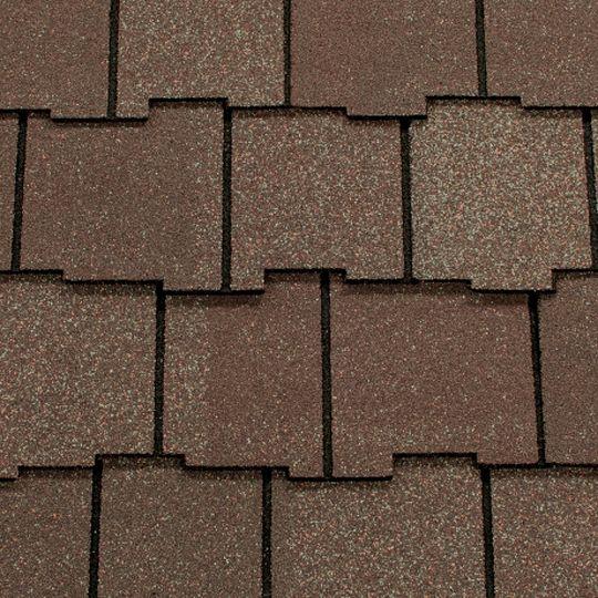 CertainTeed Roofing Arcadia Shake® AR Algae Resistant Shingles Black Walnut
