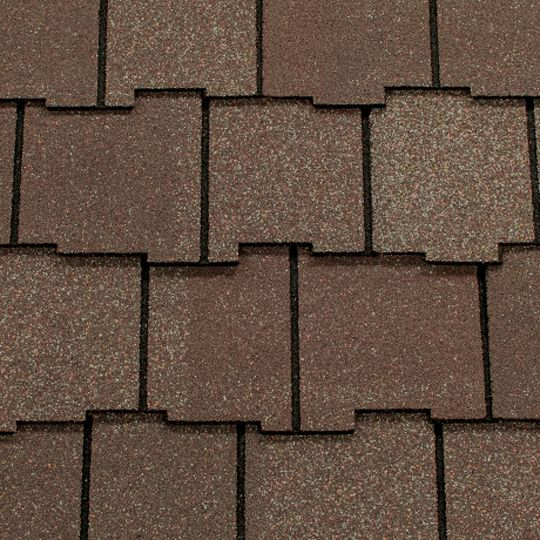 CertainTeed Roofing Arcadia Shake® AR Algae Resistant Shingles Charcoal Black