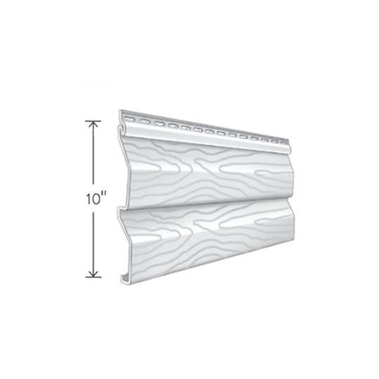 "Exterior Portfolio American Dream™ Double 5"" Dutchlap Siding Panels Driftwood"