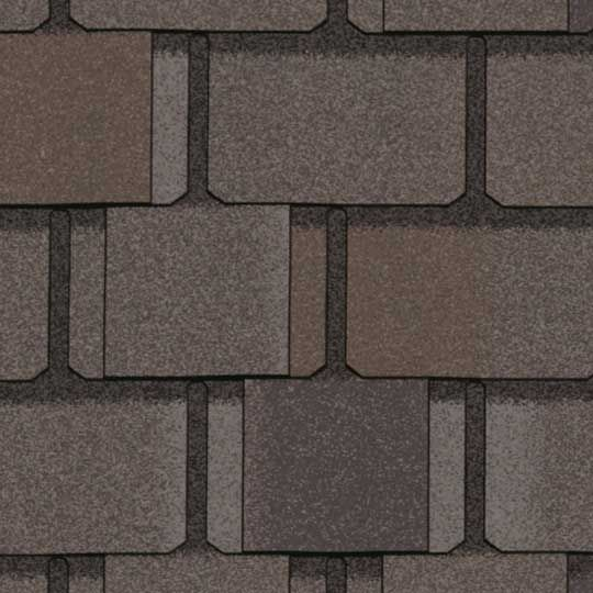 CertainTeed Roofing Belmont® Impact Resistant Shingles Stonegate Grey