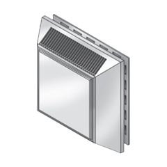 """Royal Building Products 7-1/2"""" Intake/Exhaust Vent"""