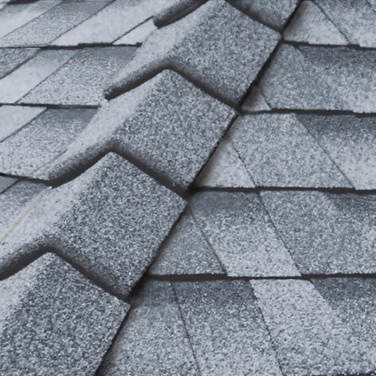 IKO UltraHP® (High Profile) Impact Resistant Ridge Cap Shingles Frostone Grey
