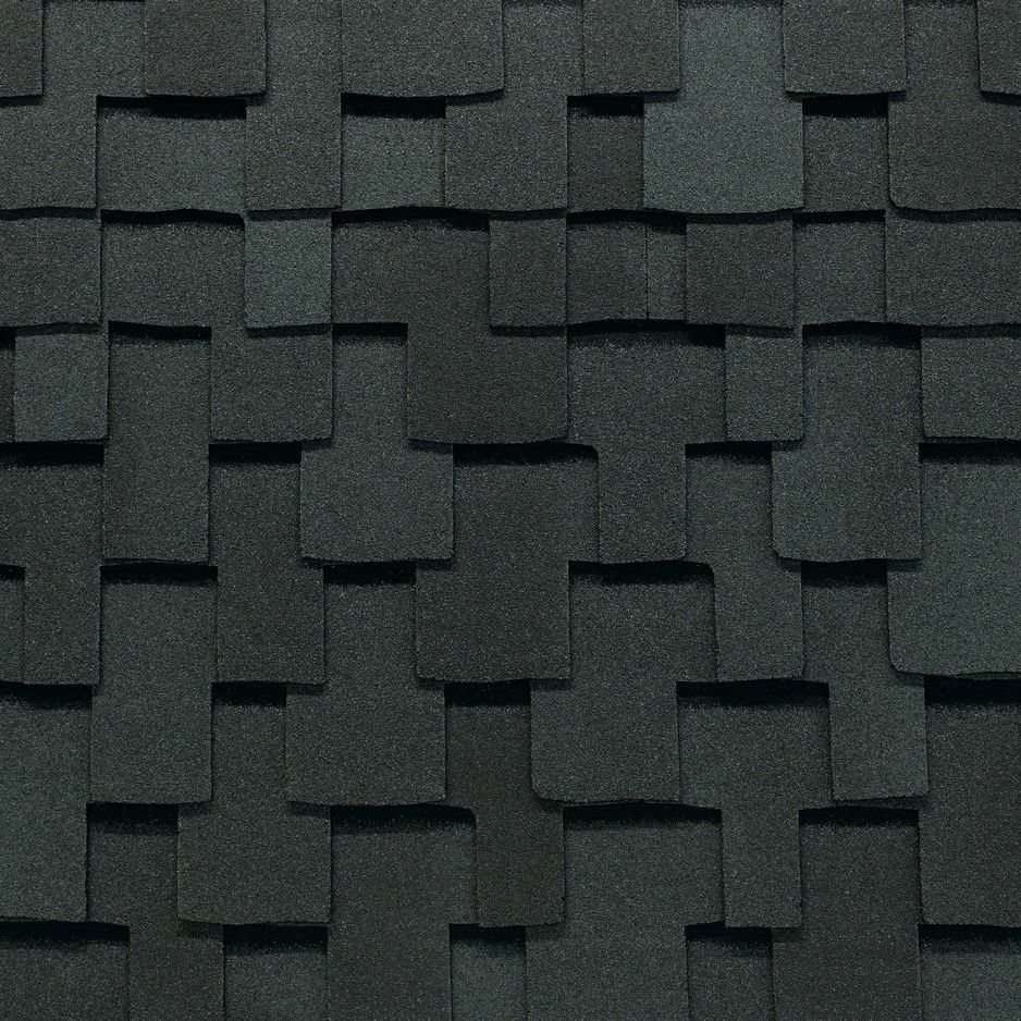 "GAF 17"" x 40"" Grand Sequoia® Reflector Series™ Shingles Charcoal"