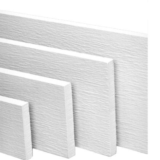 """James Hardie 3/4"""" 7-1/4"""" x 12' HardieTrim® 4/4 Rustic Grain SE Board for HardieZone® 10 Primed"""