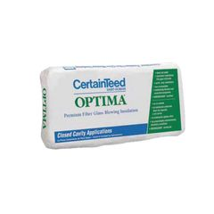 Certainteed - Insulation OPTIMA Premium Fiberglass Blowing Wool...