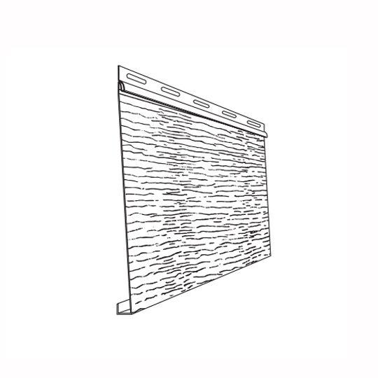 """Ply Gem 8"""" Steel Siding - Woodgrain Desert Sand"""