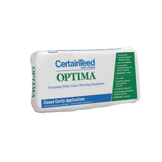 Certainteed - Insulation OPTIMA Premium Fiberglass Blowing Wool Insulation (unitized) - 28 lb. Bag (unitized)