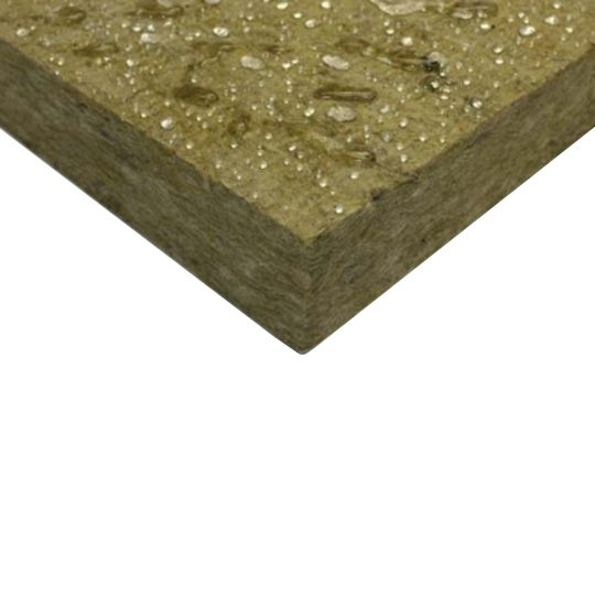 "Owens Corning 1"" x 24"" x 48"" Thermafiber® RainBarrier® 45 Continuous Mineral Wool Insulation - 128 Sq. Ft. Bag"