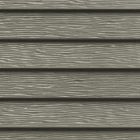 "Ply Gem Double 5"" Steel Siding - Woodgrain Pebblestone Clay"