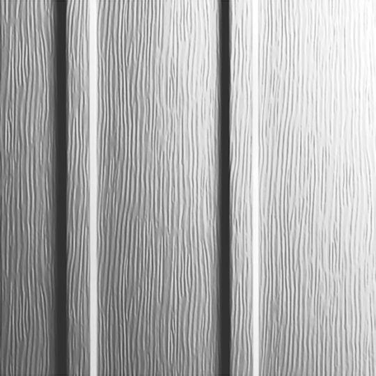 """Ply Gem 10"""" Board & Batten Steel Siding - Woodgrain Natural Slate"""