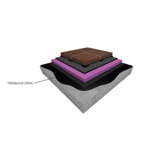 Tremco TREMproof® 250GC Self-Leveling Grade - 5 Gallon Pail Black