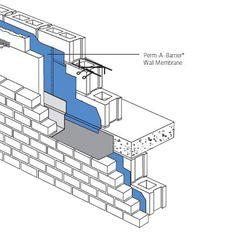 "GCP Applied Technologies 24"" x 75' Perm-A-Barrier® Wall Membrane..."