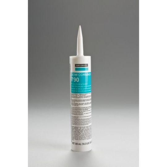 DOW DOWSIL™ 790 Silicone Building Sealant - 10.3 Oz. Cartridge Precast White