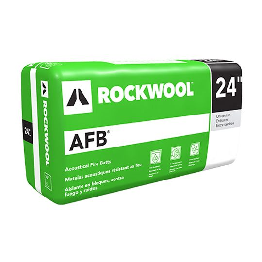 """Rockwool 2-1/2"""" x 2' x 4' AFB® - 80 Sq. Ft. Bag"""