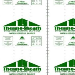 Fibre Converters 4' x 8' Thermo Sheath Green-Grade Structural Sheathing