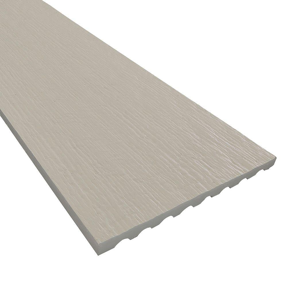 "James Hardie 3/4"" 7-1/4"" x 12' HardieTrim® 4/4 NT3® Roughsawn Board for HardieZone® 5 Arctic White"