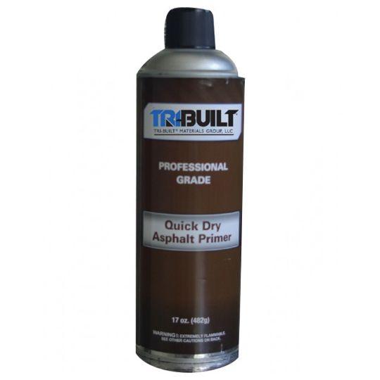 TRI-BUILT Quick Dry Asphalt Spray Primer 17 Oz. Aerosol Can