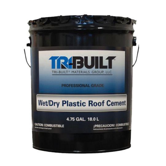 TRI-BUILT A/F Flashing Cement - Summer Grade 5 Gallon Pail Black
