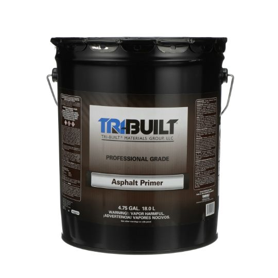 TRI-BUILT Quick Dry Asphalt Primer - 5 Gallon Pail Black