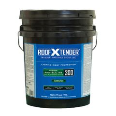 TRI-BUILT ROOF X TENDER® 300 Rubber Roof Seal WB - 5 Gallon Pail
