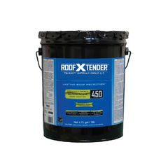 TRI-BUILT ROOF X TENDER® 450 Premium Fibered Aluminum Roof Coating -...